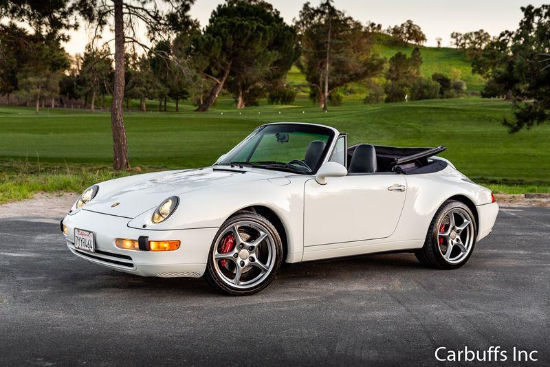 1995 Porsche 911 Carrera Cabriolet   Concord, CA   Carbuffs