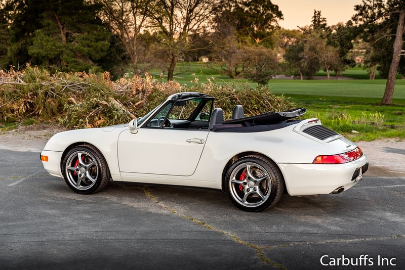 1995 Porsche 911 Carrera Cabriolet   Concord, CA   Carbuffs in Concord, CA