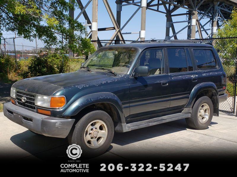 1995 Toyota Land Cruiser 4 Wheel Drive Runs Needs Paint  Interior Keep as is or Restore  city Washington  Complete Automotive  in Seattle, Washington