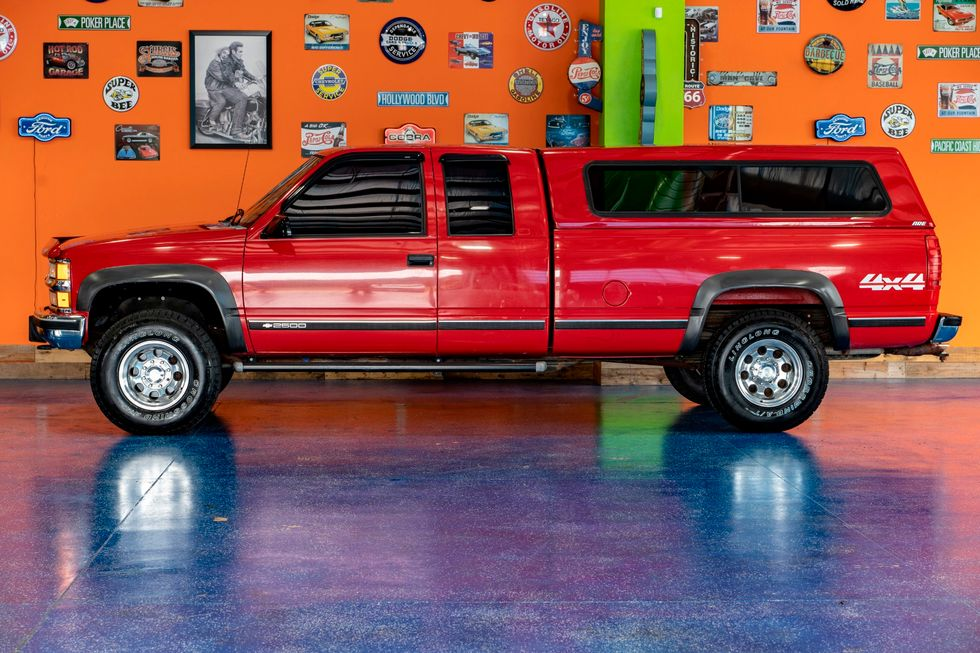Marvelous 1996 Chevrolet C K 2500 Silverado Mustang Ok Classic 405 Gmtry Best Dining Table And Chair Ideas Images Gmtryco