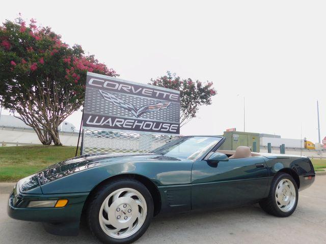 1996 Chevrolet Corvette Convertible LT-4 330HP, CD, 1-Owner 38k