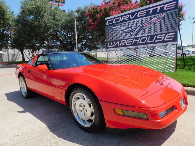 1996 Chevrolet Corvette Coupe 1SB Pkg, Auto, Glass Top, Alloy Wheels 49k in Dallas, Texas 75220