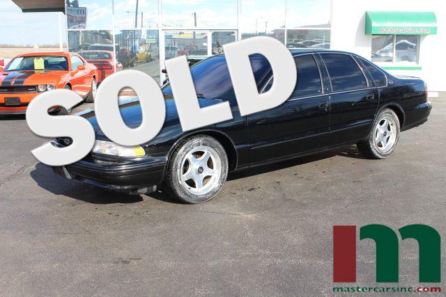 1996 Chevrolet Impala SS    Granite City, Illinois   MasterCars Company Inc. in Granite City Illinois