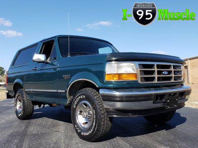 1996 Ford Bronco XLT Premium 5.8L 4x4