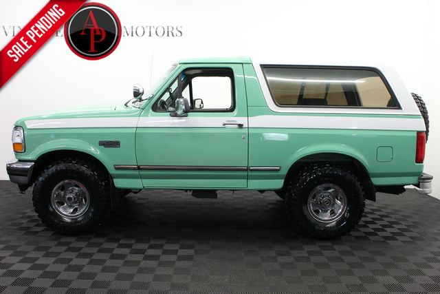 1996 Ford Bronco Forest Service truck