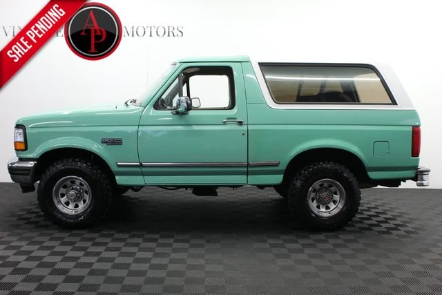 1996 Ford Bronco XLT FOREST SERVICE TRUCK