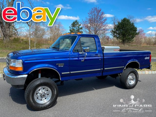 1996 Ford F250 7.3l Diesel OBS 4X4 RCAB LONG BED ONLY 79K MILES RARE