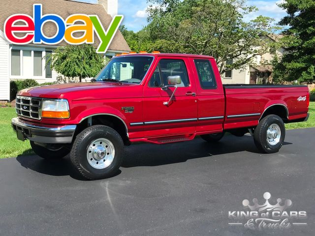 1996 Ford F250 Obs 7.3l Powerstroke DIESEL 4X4 SUPERCAB LOW MILES WOW