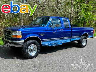 1996 Ford F250 Xlt 7.3l DIESEL OBS EXT CAB 4X4 LOW MILES 2-OWNER in Woodbury, New Jersey 08093