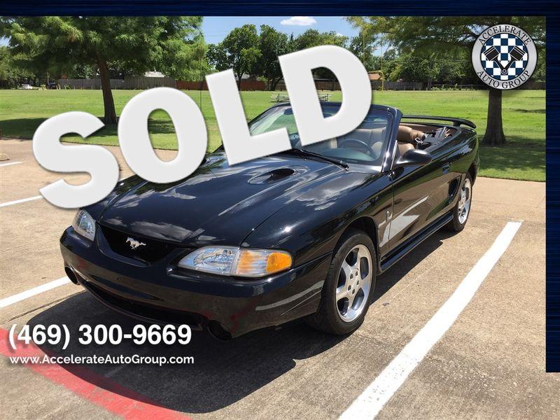 1996 Ford SVT Mustang Cobra NICE LOW MILES! in Rowlett Texas