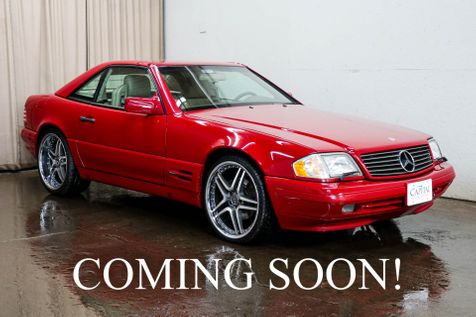 1996 Mercedes-Benz SL 500 Class Roadster Convertible w/ Hard Top, Power Seats with Driver's Side Memory & BOSE Audio in Eau Claire