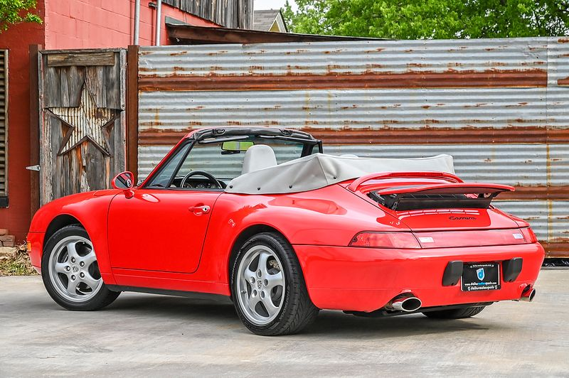 1996 Porsche 911 Carrera Cabriolet  city TX  Dallas Motorsports  in Wylie, TX
