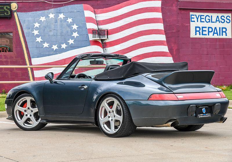 1996 Porsche 911 Carrera Cab  city TX  Dallas Motorsports  in Wylie, TX