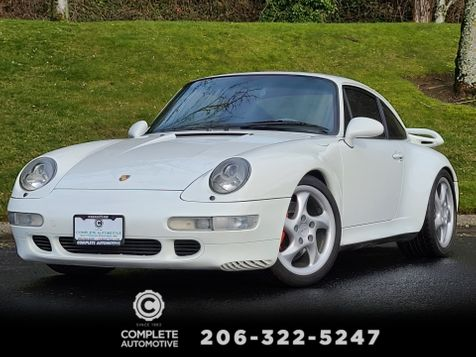 1996 Porsche 911 Turbo Coupe 3 Owner Local History Excellent 400 HP Air Cooled  in Seattle