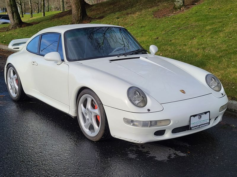 1996 Porsche 911 Turbo Coupe 3 Owner Local History Excellent 400 HP Air Cooled   city Washington  Complete Automotive  in Seattle, Washington