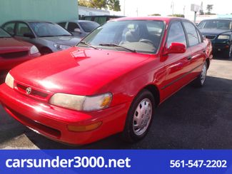1996 Toyota Corolla DX Lake Worth , Florida