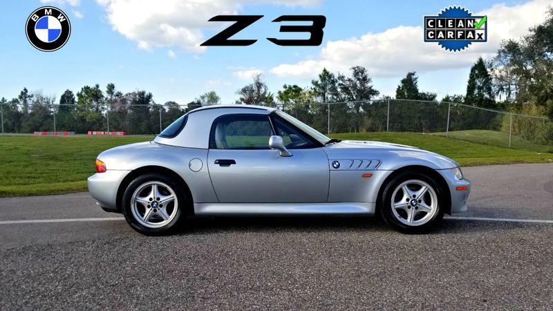 1997 BMW Z3 1.9L CONVERTIBLE REMOVABLE HARD TOP CLEAN CARFAX | Palmetto, FL | EA Motorsports in Palmetto FL