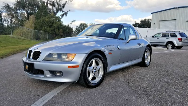 1997 BMW Z3 1.9L CONVERTIBLE REMOVABLE HARD TOP CLEAN CARFAX | Palmetto, FL | EA Motorsports in Palmetto, FL
