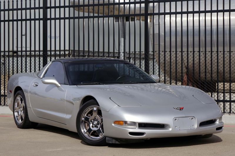 1997 Chevrolet Corvette Targa Top Auto Sebring Silver Ez Finance Plano Tx Carrick S Autos