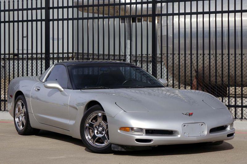1997 Chevrolet Corvette Targa Top* Auto* Sebring Silver* EZ Finance**   Plano, TX   Carrick's Autos in Plano TX