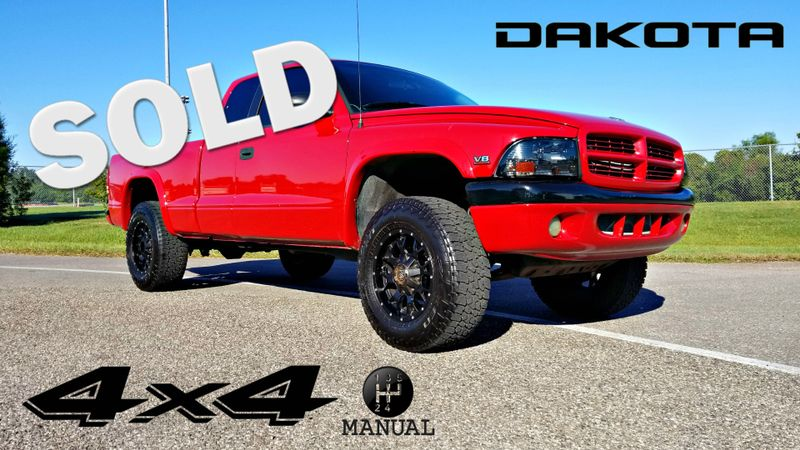 1997 Dodge Dakota V-8 5 SPEED MANUAL 4X4 TRUCK | Palmetto, FL | EA Motorsports in Palmetto, FL