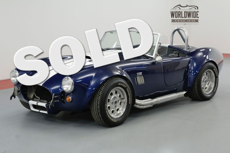 1965 Factory Five COBRA 302V8 MANUAL. LOADED WITH OPTIONS SHOW OR GO | Denver, CO | Worldwide Vintage Autos