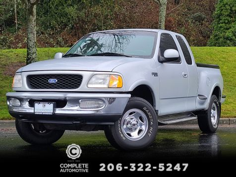 1997 Ford F-150 XLT 4x4 Flair-Side or Step-Side Bed Extended Cab 3 Door 4.6 V8  Local 1 Owner History in Seattle