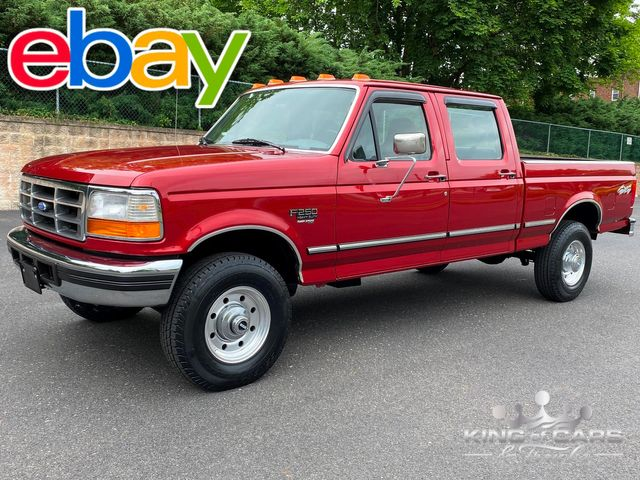 1997 Ford F250 7.3l Diesel Obs 4X4 1-OWNER CREW CAB SHORT BED MINT ONLY 98K MILE in Woodbury, New Jersey 08093