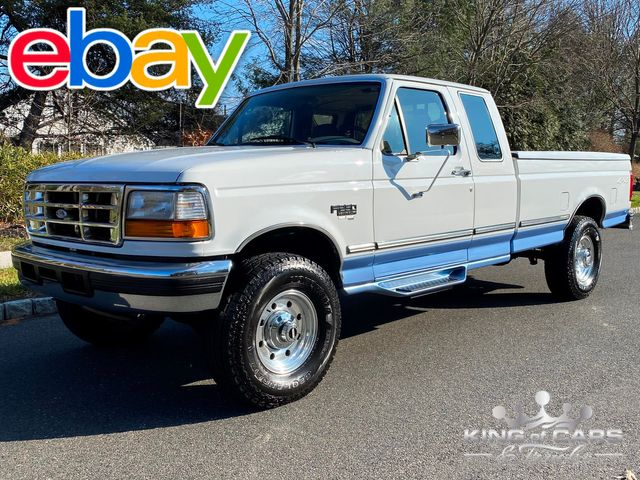 1997 Ford F250 7.3l Diesel Obs 4X4 1-OWNER RARE LOW MILES 8' BED MINT