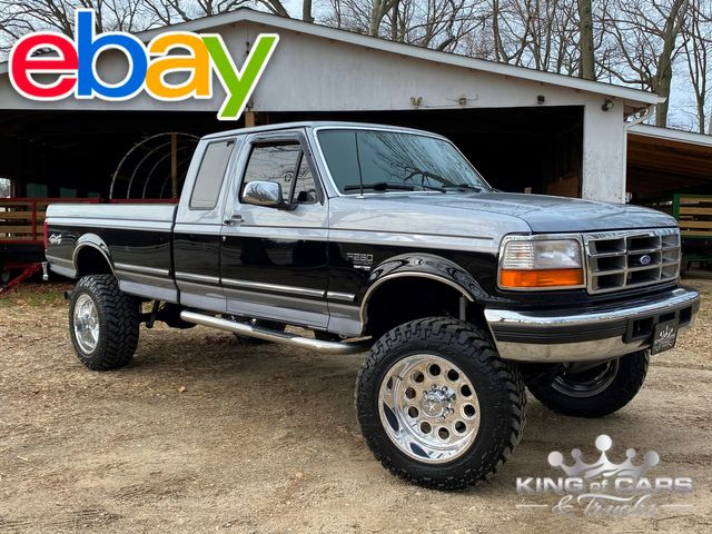 1997 Ford F250 Ext Cab 7.3l DIESEL 4X4 XLT LOW MILE 1-OWNER RARE