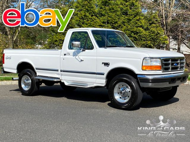 1997 Ford F250 Rcab 7.3l DIESEL 4X4 XLT ONLY 67K MILES RARE PRISTINE