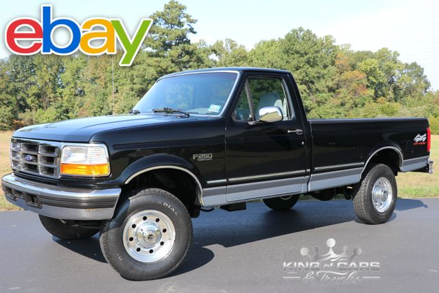 1997 Ford F250 Xlt Reg Cab 5.8L V8 48K ACTUAL MILES RUST FREE 4X4 in Woodbury, New Jersey 08093