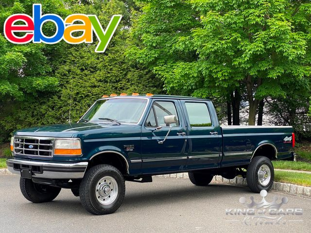 1997 Ford F350 7.3l Diesel OBS 4X4 1-OWNER CREW CAB LONG BED MINT ONLY 78K MILES
