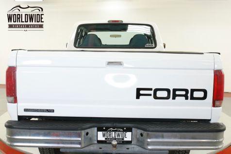1997 Ford F350 CREW CAB 38K ORIGINAL MILES 7.3L DIESEL 4X4   Denver, CO   Worldwide Vintage Autos in Denver, CO