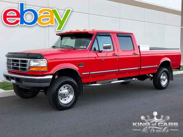 1997 Ford F350 Obs 7.3l POWERSTROKE DIESEL 4X4 CREW CAB LONG BED LOW MILES