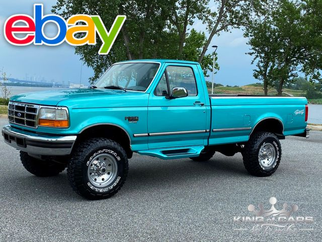 1997 Ford F350 Rcab 7.3l Diesel 4X4 XLT ONLY 87K MILES RARE CALYPSO GREEN