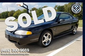 1997 Ford Mustang Cobra - LOW MILES, CLEAN CARFAX! in Rowlett
