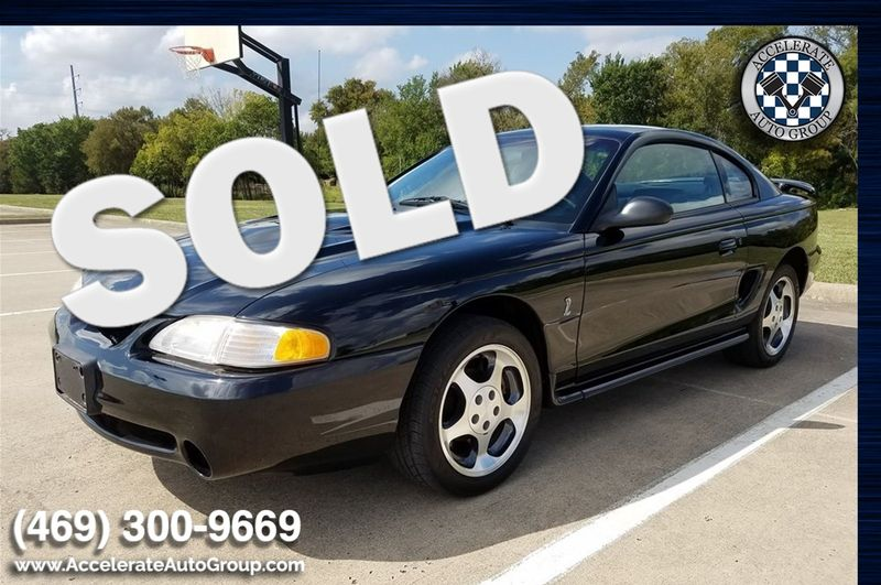 1997 Ford Mustang Cobra - LOW MILES, CLEAN CARFAX! in Rowlett Texas