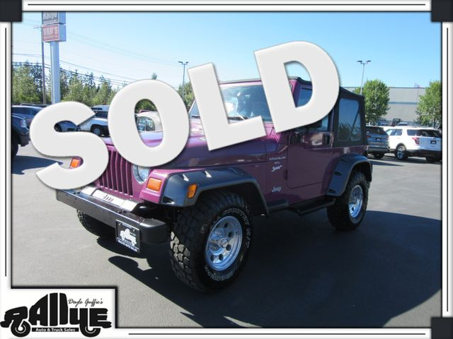 1997 Jeep Wrangler Sport 4WD in Burlington WA, 98233