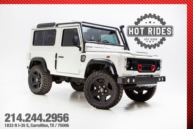 land rover defender 90 khan wide body ebay rh ebay com Land Rover Defender 110 Land Rover Defender 2016