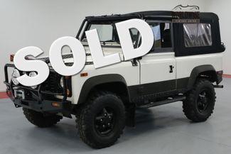 1997 Land Rover DEFENDER 90 NAS. SOFT TOP. 71K MILES! AUTO. COLLECTOR! | Denver, CO | Worldwide Vintage Autos in Denver CO
