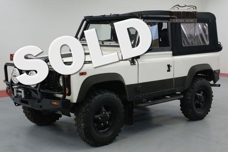 1997 Land Rover DEFENDER 90 NAS. SOFT TOP. 71K MILES! AUTO. COLLECTOR!   Denver, CO   Worldwide Vintage Autos