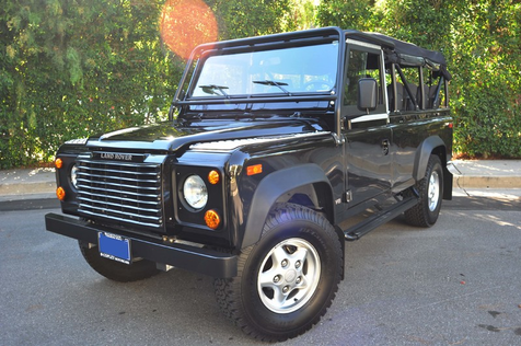 1997 Land Rover Defender 110  Convertible