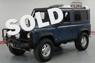 1997 Land Rover DEFENDER 90. NAS. 75K ORIGINAL MILES. $25K 300 TDI. | Denver, CO | Worldwide Vintage Autos in Denver CO