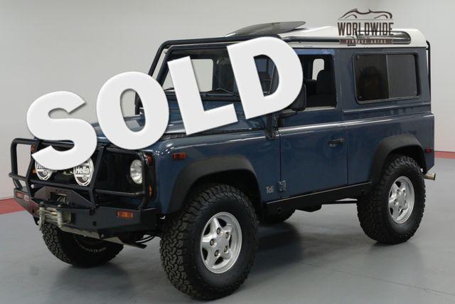 1997 Land Rover DEFENDER 90. NAS. 75K ORIGINAL MILES. $25K 300 TDI. | Denver, CO | Worldwide Vintage Autos in Denver CO