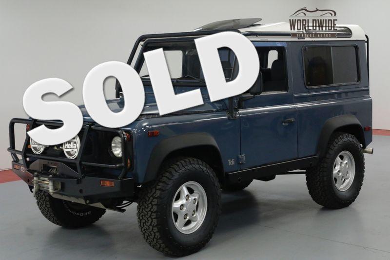 1997 Land Rover DEFENDER 90. NAS. 75K ORIGINAL MILES. $25K 300 TDI. | Denver, CO | Worldwide Vintage Autos