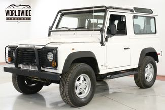 1997 Land Rover DEFENDER NAS. 26K ORIGINAL MILES! AUTO V8 COLLECTOR  | Denver, CO | Worldwide Vintage Autos in Denver CO