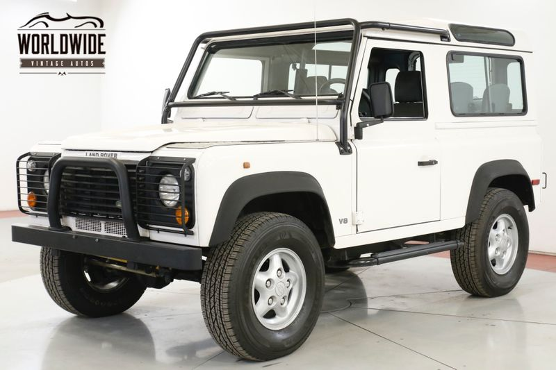 1997 Land Rover DEFENDER NAS. 26K ORIGINAL MILES! AUTO V8 COLLECTOR  | Denver, CO | Worldwide Vintage Autos
