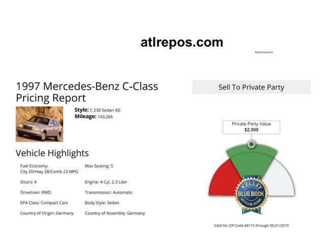 1997 Mercedes-Benz C230 Salt Lake City, UT