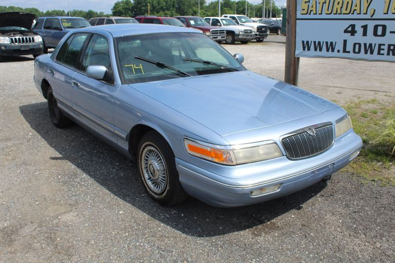 1997 Mercury Grand Marquis GS  city MD  South County Public Auto Auction  in Harwood, MD